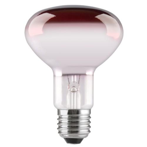 Λάμπα καθρέπτου κόκκινη R80 60W E27 230V