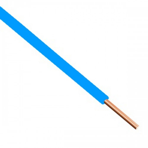 Καλώδιο τηλεφώνου μονοπολικό 1Χ0.8mm² Μπλε