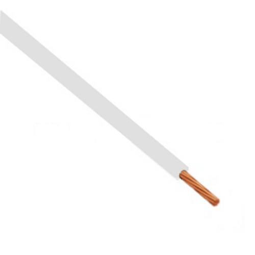 Καλώδιο πολύκλωνο 0.5mm² Λευκό