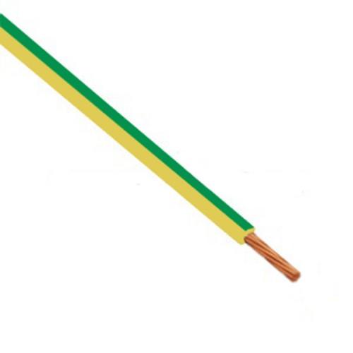 Καλώδιο πολύκλωνο 0.5mm² Κίτρινο-πράσινο