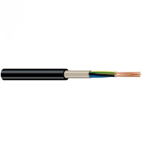 Καλώδιο NYY (E1VV-R) 3X6mm² Μαύρο