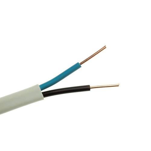 Καλώδιο NYM (A05VV-U) 2X1.5mm² Λευκό