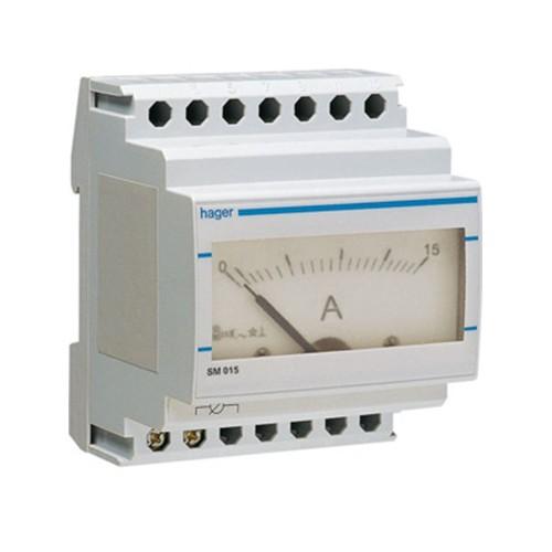 Αμπερόμετρο αναλογικό άμεσης μέτρησης 0-15Α SM015