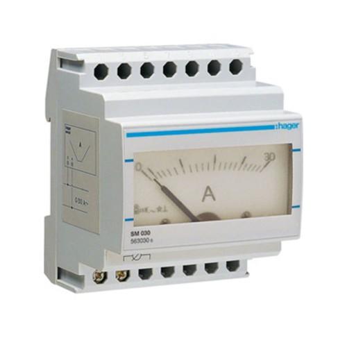 Αμπερόμετρο αναλογικό άμεσης μέτρησης 0-30Α SM030