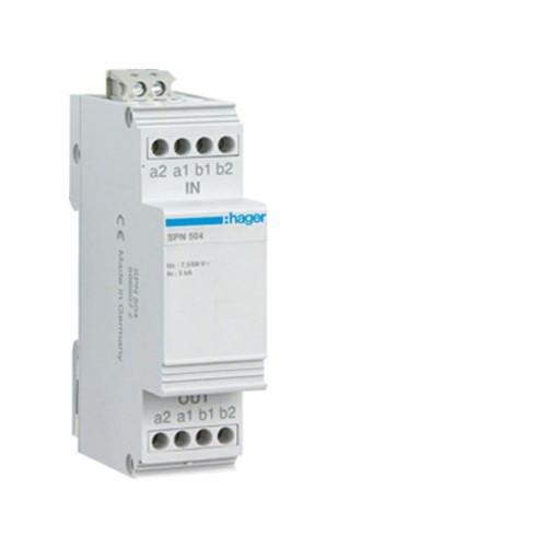 Αντικεραυνικό τηλεφωνικής γραμμής ISDN 10kA SPN504