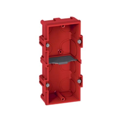 Κουτί χωνευτό batibox 145mmX71mmX40mm Κόκκινο