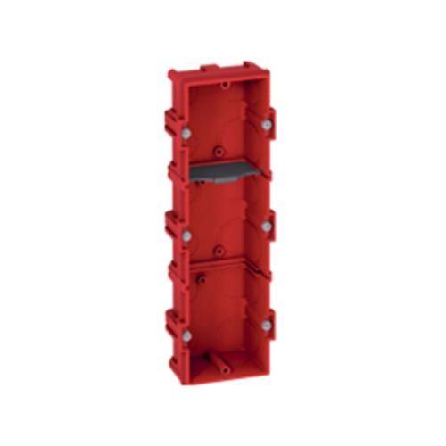 Κουτί χωνευτό batibox 216mmX71mmX40mm Κόκκινο