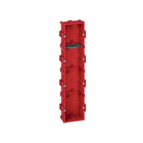 Κουτί χωνευτό batibox 287mmX71mmX40mm Κόκκινο