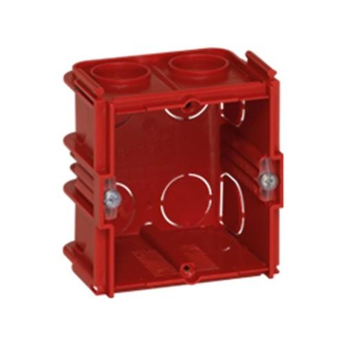 Κουτί χωνευτό batibox 71mmX71mmX50mm Κόκκινο