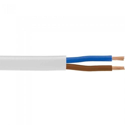 Καλώδιο NYLHY (H03VV-F) 2X0.50mm² Λευκό