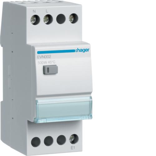 Ρυθμιστής φωτισμού 500W πυράκτωση, 100W LED/CFL EVN002