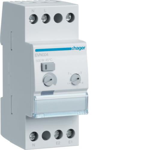 Ρυθμιστής φωτισμού 500W πυράκτωση, 100W LED/CFL EVN004