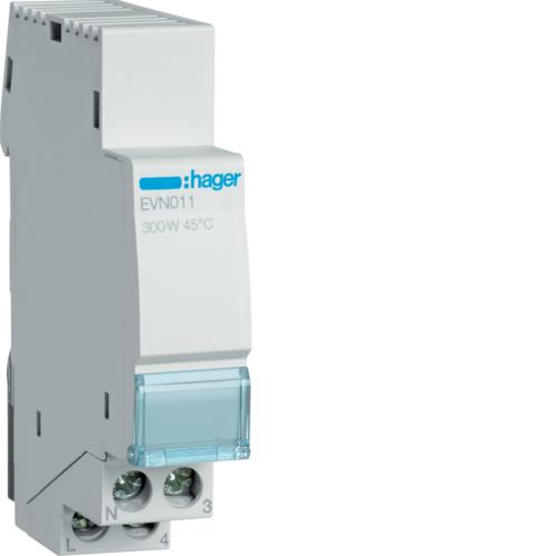Ρυθμιστής φωτισμού 300W πυράκτωση, 60W LED/CFL EVN011