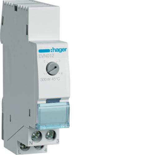 Ρυθμιστής φωτισμού 300W πυράκτωση, 60W LED/CFL EVN012