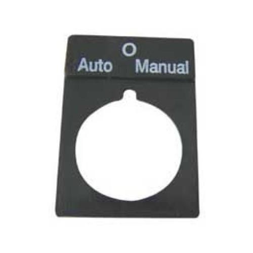Εξάρτημα πλάκα ένδειξης AUTO-0-MANUAL RTP03 XND