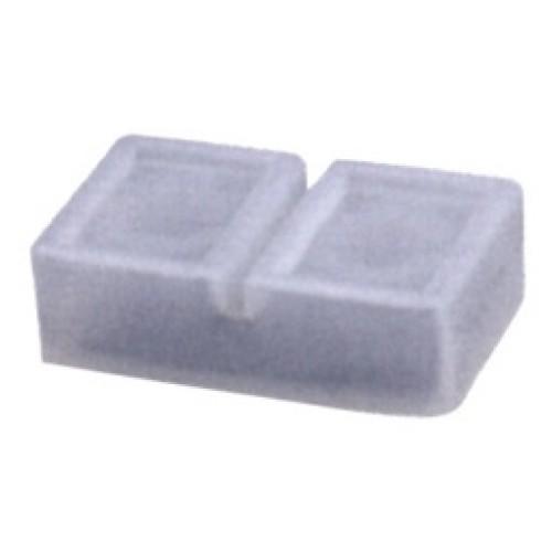 Εξάρτημα στεγανοποίησης πλαστικό διπλά διαφανές οβάλ PE22B XND