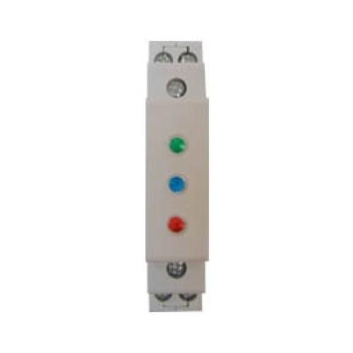 Ενδεικτική λυχνία ράγας με LED 3P πράσινη/μπλε/κόκκινη GAC