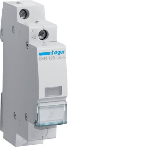 Ενδεικτικό ράγας LED λευκό 230V SVN125