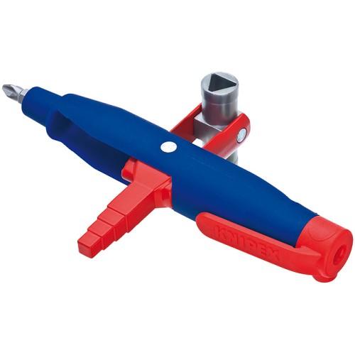 Επαγγελματικό κλειδί 145mm για όλες τις ντουλάπες κεντρικών εγκαταστάσεων