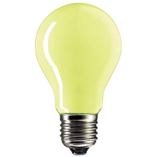 Λάμπα πυρακτώσεως κίτρινη εντόμων 100W E27 230V