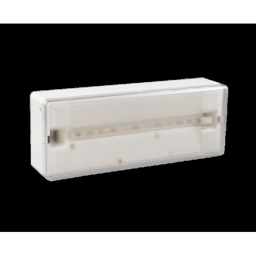 Φωτιστικό ασφαλείας classic leds light GR-108/12L/90