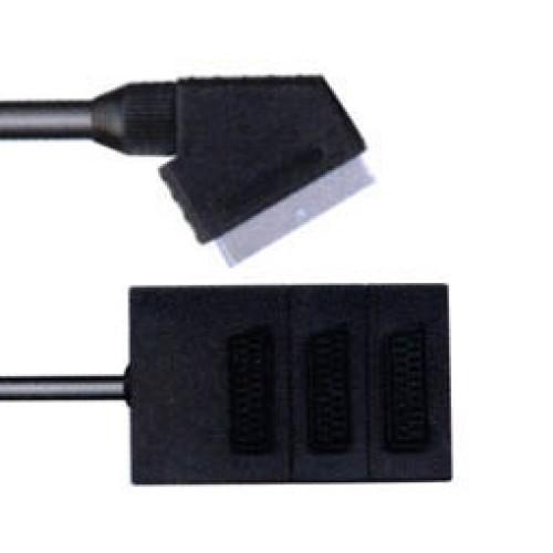 Καλώδιο SCART αρσενικό/3SCART θηλυκό SC2031 LZ