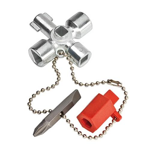 Κλειδί 76mm για όλες τις ντουλάπες κεντρικών εγκαταστάσεων