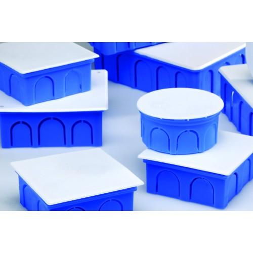 Κουτί διακλάδωσης χωνευτό 10Χ10 Μπλε