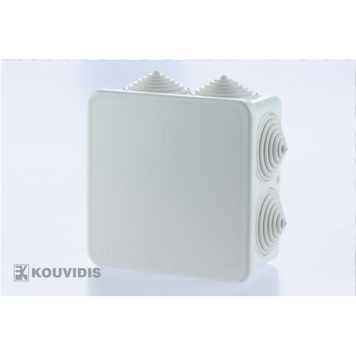 Κουτί μεσαίου τύπου MEDISOL 10,1X10,1X51 Φ25 Λευκό
