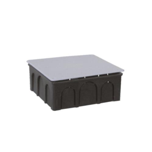 Κουτί διακλάδωσης χωνευτό 15Χ15 Μαύρο