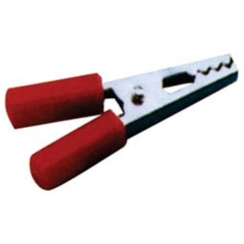 Κροκοδειλάκι μεσαίο 3A 35mm κόκκινο CL005 LZ