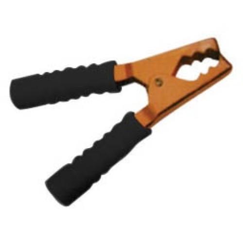 Κροκοδειλάκι μπαταρίας χαλκού 200A 135mm μαύρο YG-10033 LZ