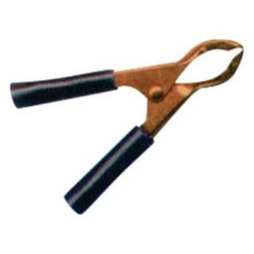 Κροκοδειλάκι μπαταρίας χαλκού 30A 75mm μαύρο YG-10020 4SPINS LZ