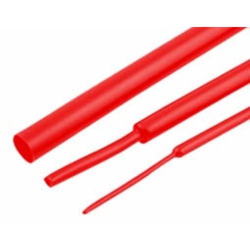 Μακαρόνι θερμοσυστελλόμενο Φ10/Φ5 (1m) κόκκινο