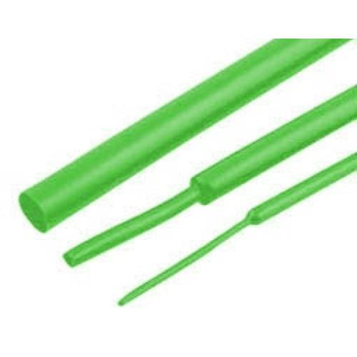 Μακαρόνι θερμοσυστελλόμενο Φ10/Φ5 (1m) πράσινο