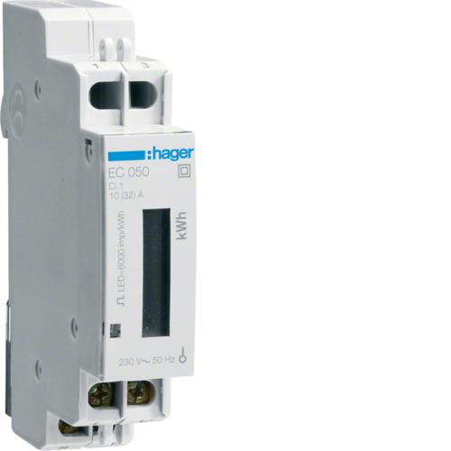 Μετρητής ενέργειας μονοφασικός άμεσης μέτρησης 32A EC050