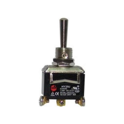 Μικροδιακόπτης (ON)-OFF-(ON) 10A/250V 3P HY29J KED