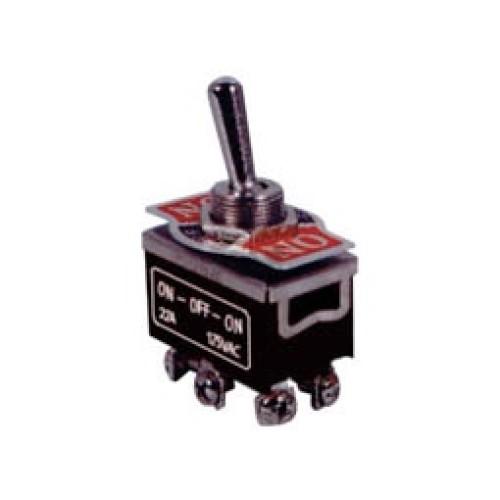 Μικροδιακόπτης (ON)-OFF-(ON) 10A/250V 6P KN3C-223Α-A3 LZ