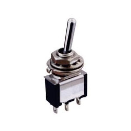 Μικροδιακόπτης mini ON-OFF-(ON) 3A/250V 3P TA105A1 SCI