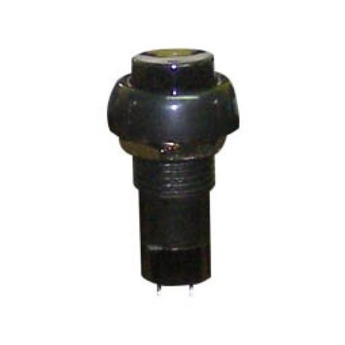 Μπουτόν διακόπτης ON-OFF στρογγυλός μαύρος Φ12 PB305A UNI
