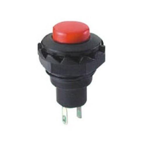 Μπουτόν PUSH OFF στρογγυλό κόκκινο Φ16 R13-502B-2P SCI