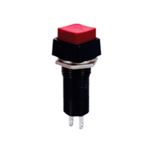 Μπουτόν PUSH OFF τετράγωνο κόκκινο Φ12 PB303C UNI