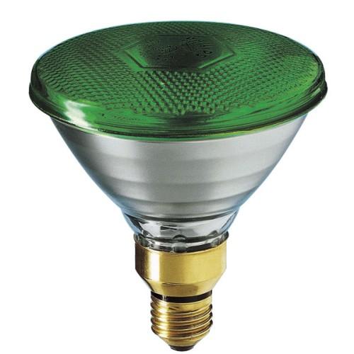 Λάμπα καθρέπτου πράσινη PAR38 80W E27 230V