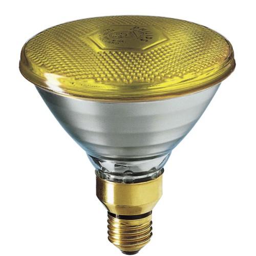 Λάμπα καθρέπτου κίτρινη PAR38 80W E27 230V