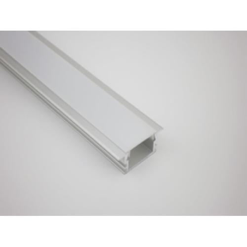 Προφίλ αλουμινίου για ταινία LED R22 (χωνευτό)