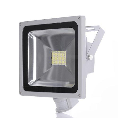 Προβολέας LED 20W SMD ψυχρός με ανιχνευτή κίνησης IP65