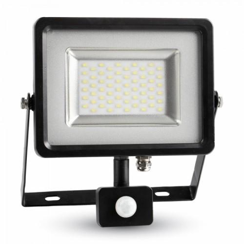 Προβολέας LED 30W SMD θερμό λευκό με ανιχνευτή κίνησης IP65
