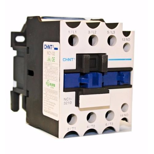 Ρελέ ισχύος 15KW 1 ανοιχτή επαφή NC1-3210
