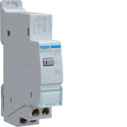 Ρελέ καστάνιας αθόρυβο ηλεκτρονικό 230V 1A 16A EPN410