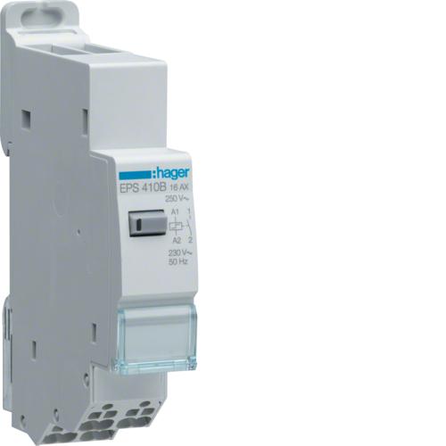 Ρελέ καστάνιας αθόρυβο ηλεκτρονικό quickconnect 230V 1A 16A EPS410B